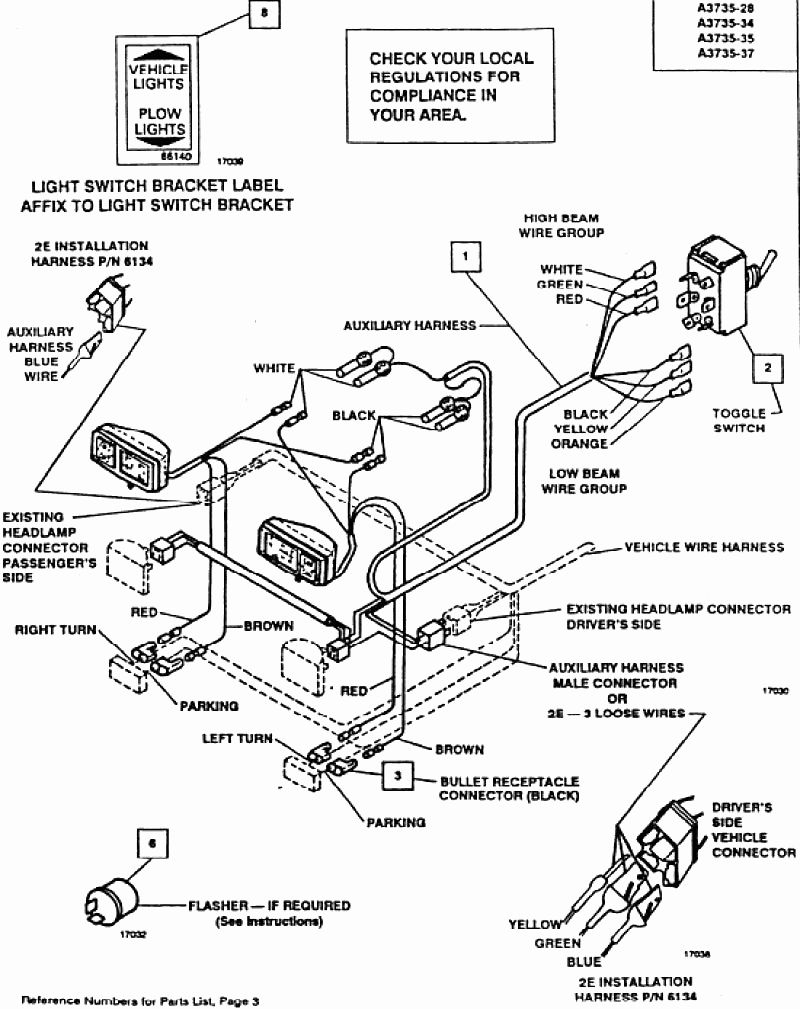 Wiring Diagram For Meyer Snow Plow Fresh Meyer E47 Wiring Diagram - Meyer Snowplow Wiring Diagram