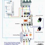 Wiring Diagram For Motor Starter 3 Phase Controller Failure Relay   Three Phase Motor Wiring Diagram