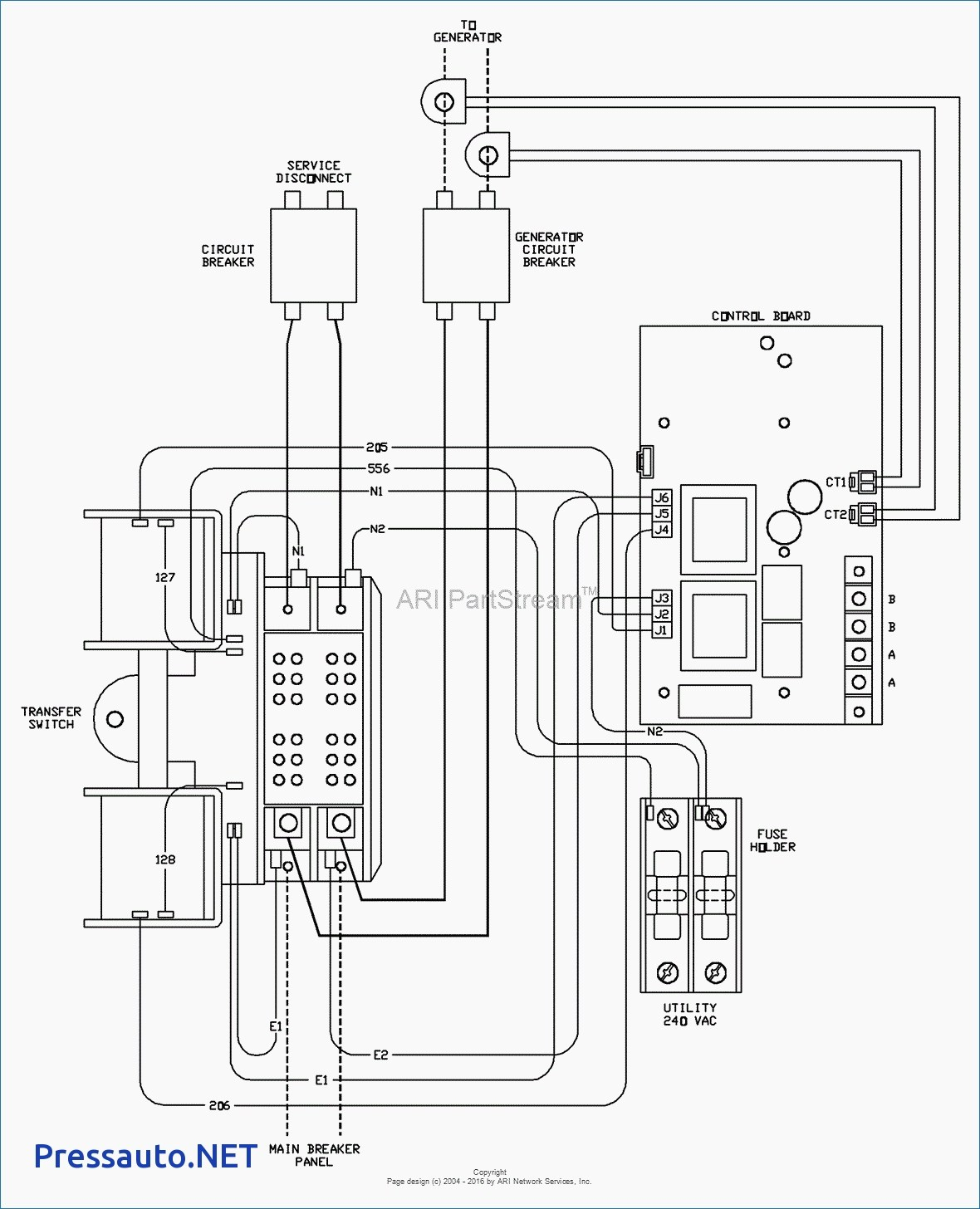 Wiring Diagram For Reliance Transfer Switch - Wiring Diagram Online - Reliance Generator Transfer Switch Wiring Diagram