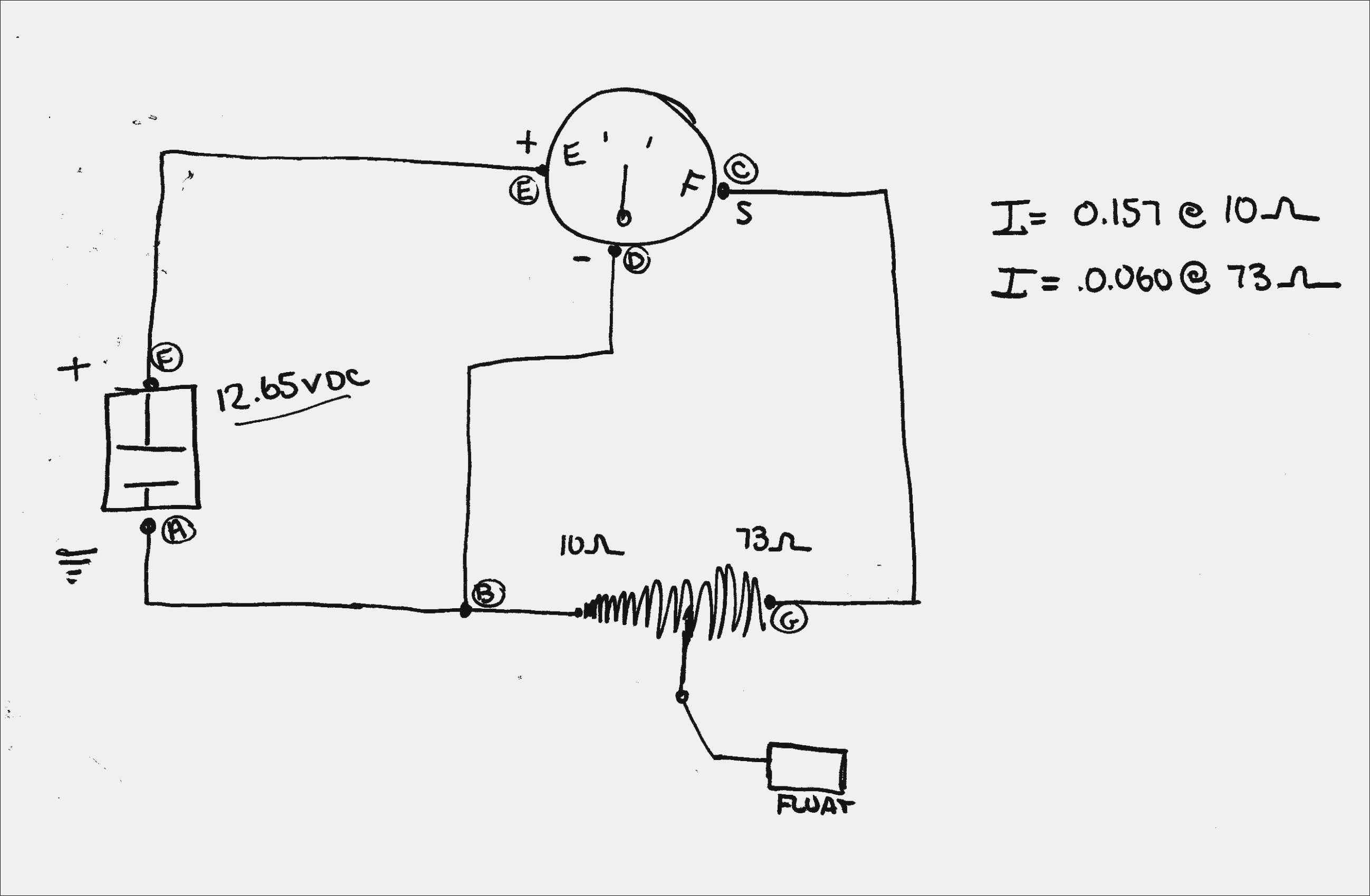 Wiring Diagram Fuel Gauge Manual - Today Wiring Diagram - Fuel Gauge Wiring Diagram