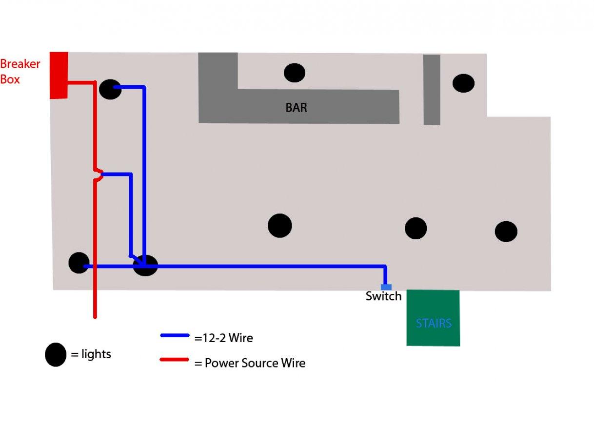 Wiring Diagram Further Multiple Recessed Lights Also - Schematics - Wiring Recessed Lights In Parallel Diagram