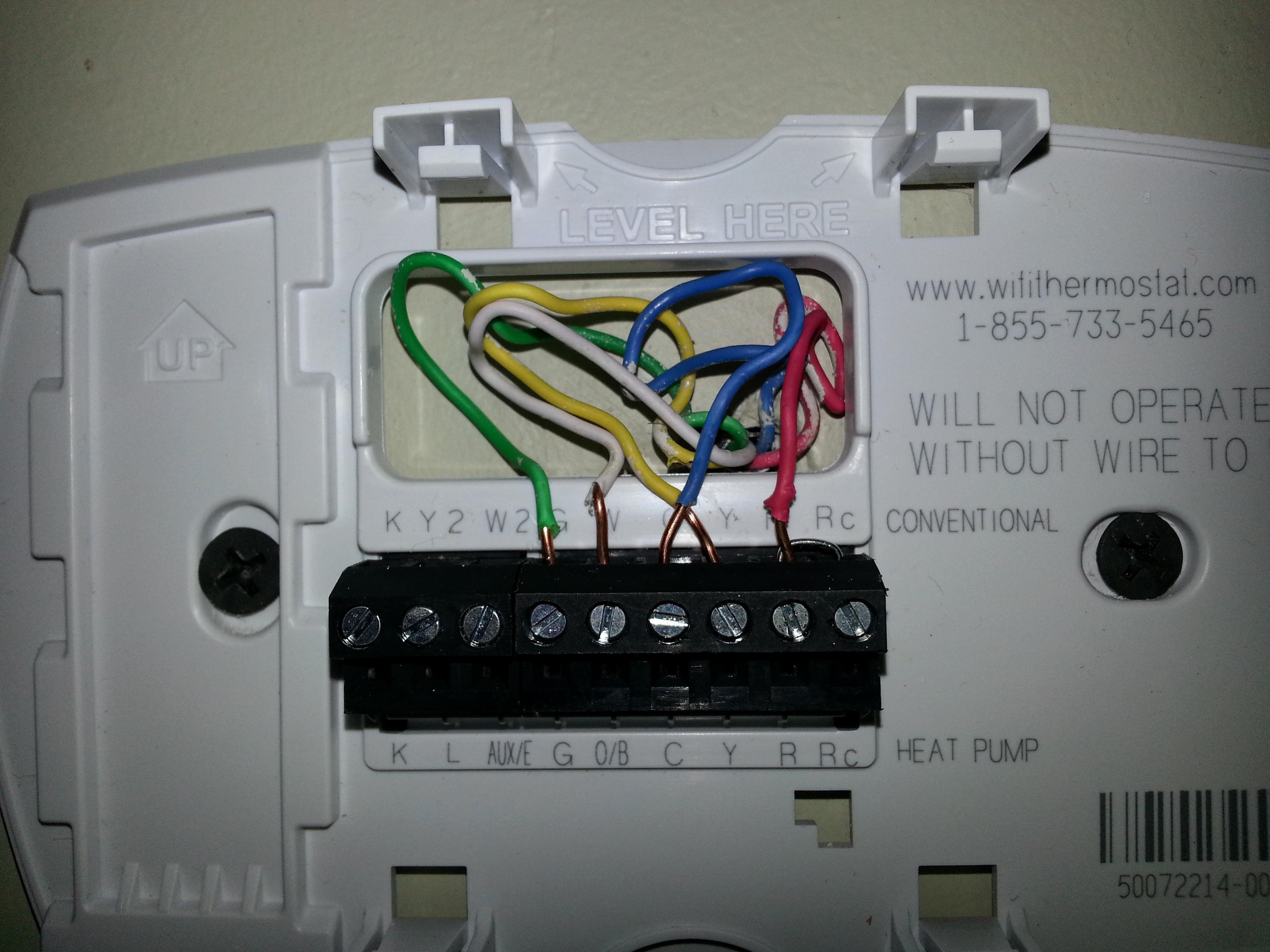 Wiring Diagram Honeywell Thermostat Th6220D1002 | Wiring Library - Honeywell Wifi Thermostat Wiring Diagram