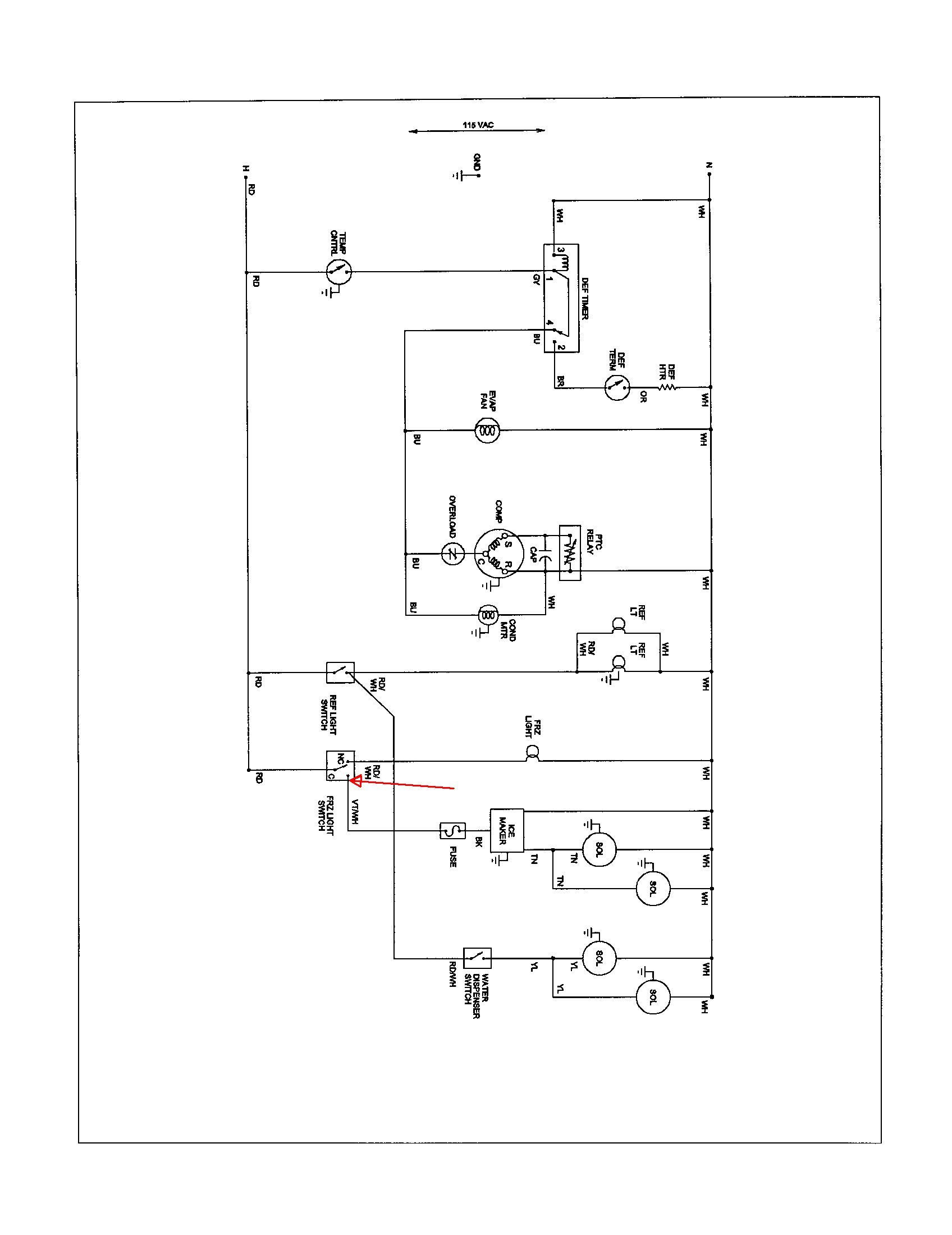 True Freezer T 49f Wiring Diagram