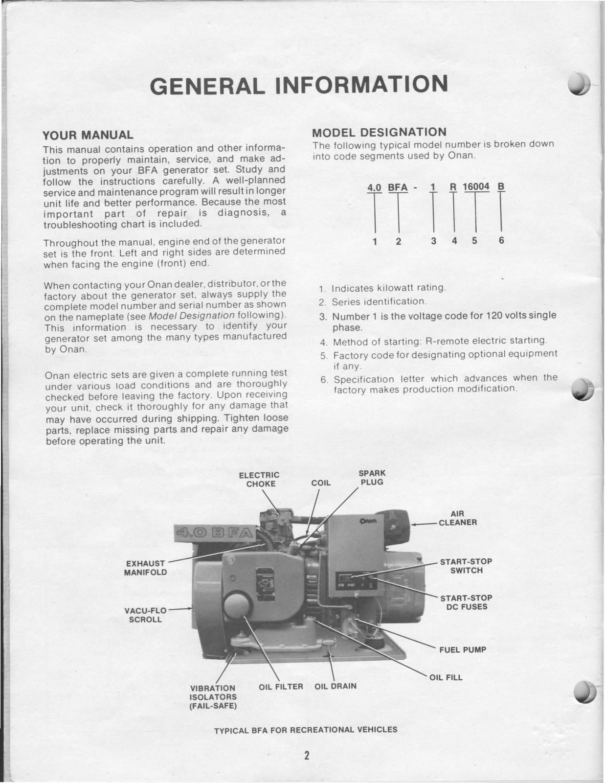 Wiring Diagram Onan 4.0 Generator Inspirational 1983 Fleetwood Pace - Onan 4.0 Rv Genset Wiring Diagram