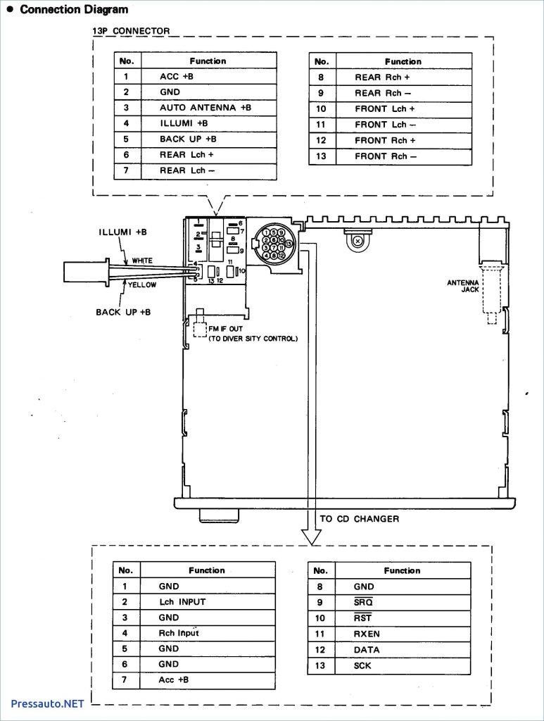 Wiring Diagram Pioneer Deh 150mp