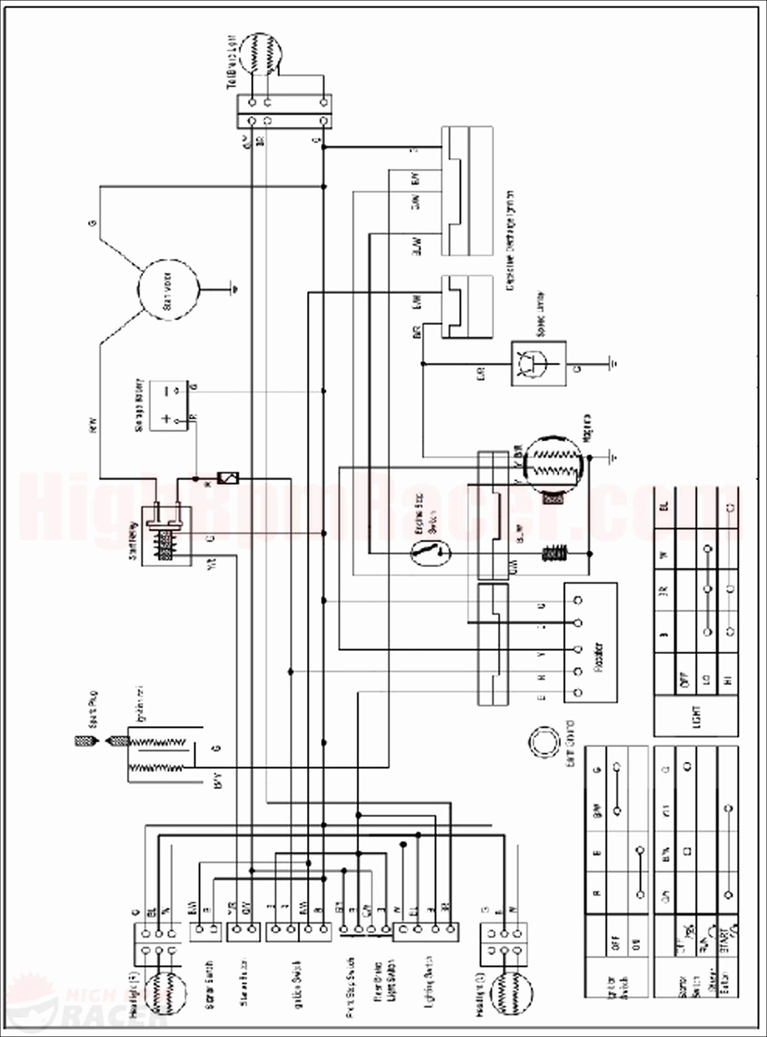 Honda 110 Atv Wiring Harness For