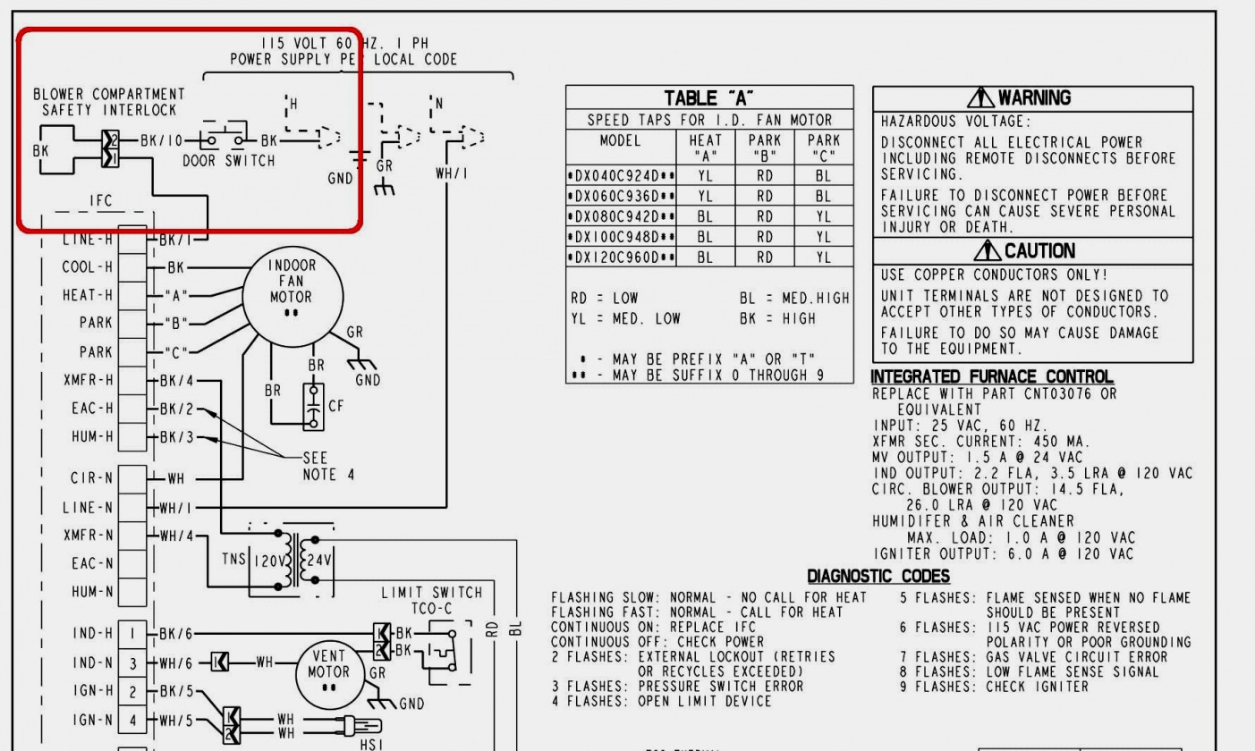 Wiring Diagram Trane Baystat239A - Wiring Diagram Data - Air Handler Wiring Diagram