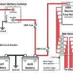 Wiring Diagram Typical Battery Isolator Circuits Single   Today   Boat Battery Switch Wiring Diagram