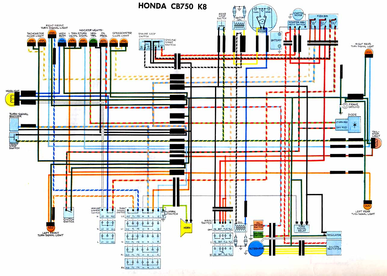 Wiring Diagrams - Cb750 Wiring Diagram