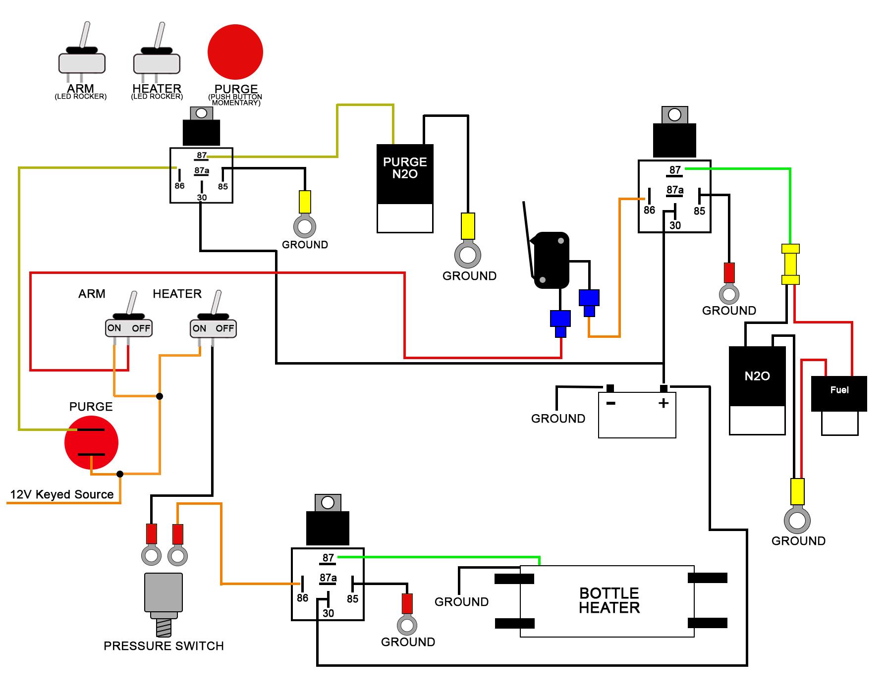 Wiring Diagrams - Solenoid Wiring Diagram
