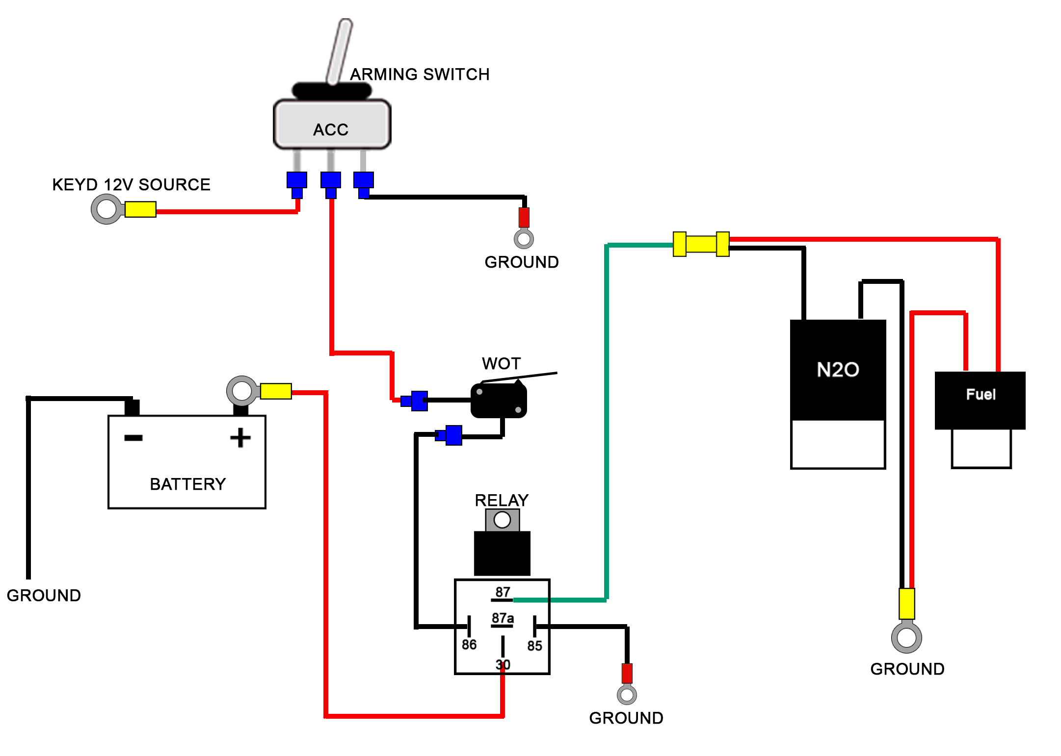 Wiring Diagrams - Universal Fuel Gauge Wiring Diagram