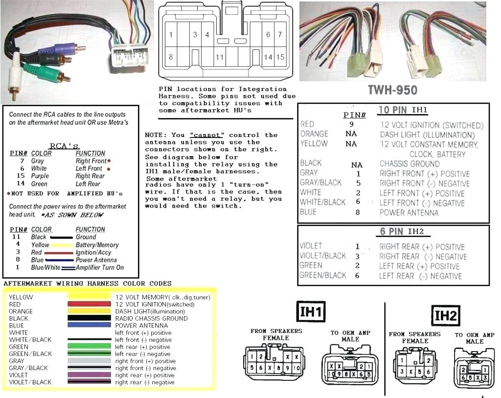 Wiring Harness Diagram | Wiring Library - Scosche Gm2000 Wiring Diagram