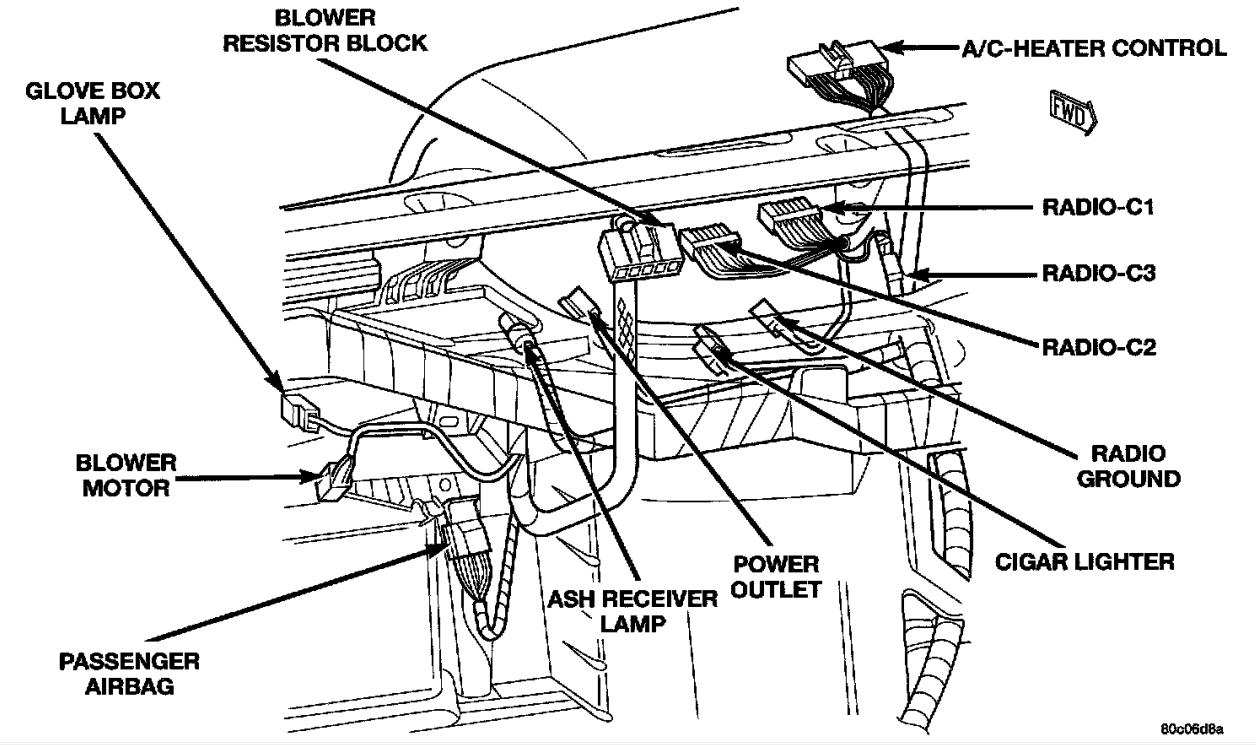 Wiring Harness For Dodge Dakota - Wiring Diagrams Click - 2002 Dodge Dakota Wiring Diagram
