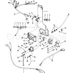 Wiring Harness, Starter Solenoid And Rectifier   Serial Range   Mercury Outboard Rectifier Wiring Diagram
