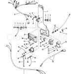 Wiring Harness, Starter Solenoid And Rectifier   Serial Range   Mercury Outboard Rectifier Wiring Diagram