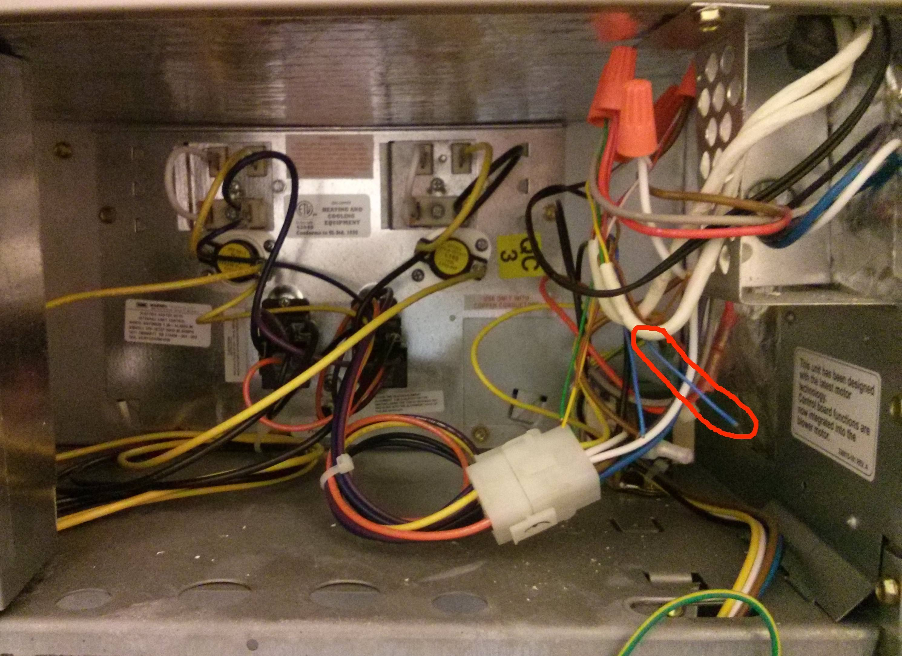 Wiring - How Do I Connect The Common Wire In A Carrier Air Handler - Carrier Air Conditioner Wiring Diagram