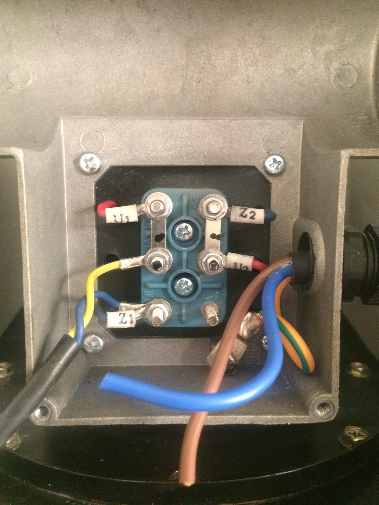 Wiring - How To Wire Up A Single-Phase Electric Blower Motor - Single Phase Motor Wiring Diagram