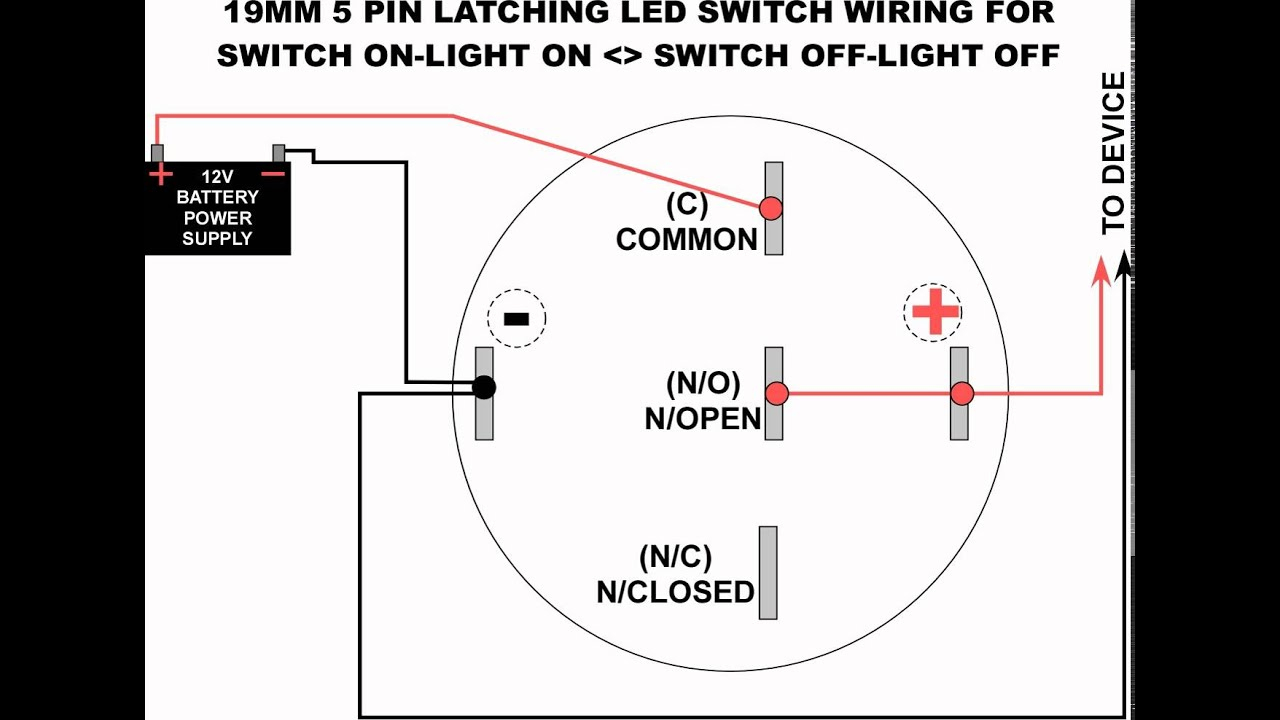 Wiring Led Switch - Wiring Diagrams Thumbs - Led Light Bar Wiring Diagram