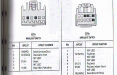 Headlight Switch Wiring Diagram