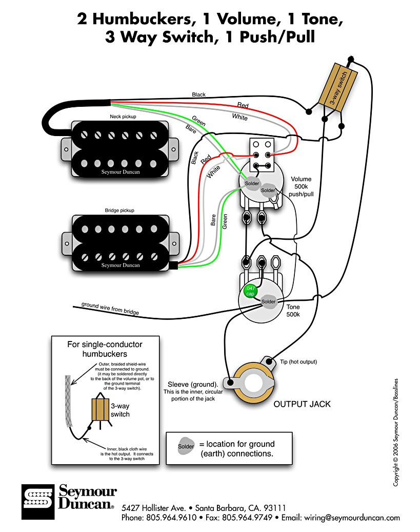 With A Push Pull Split Coil Wiring Diagram | Wiring Library - Coil Split Wiring Diagram
