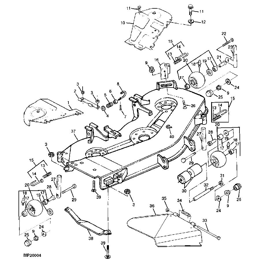 Wrg-1056] 12 Volt Lawn Mower Wiring Diagram Schematic - John Deere Z425 Wiring Diagram