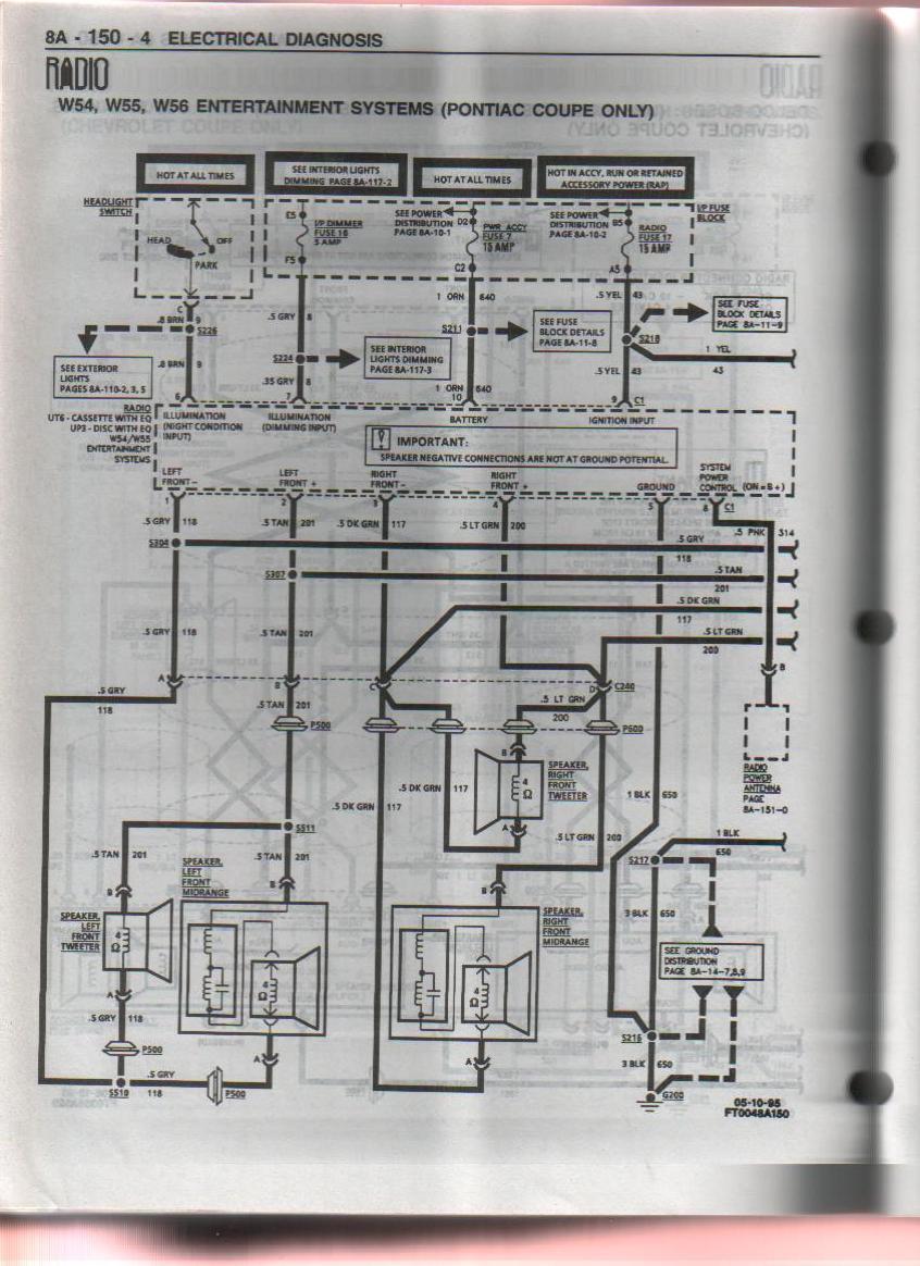 Wrg-9367  Grand Am Monsoon Stereo Wiring Diagram