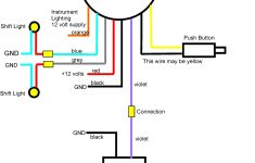 Yamaha Outboard Tachometer Wiring Diagram
